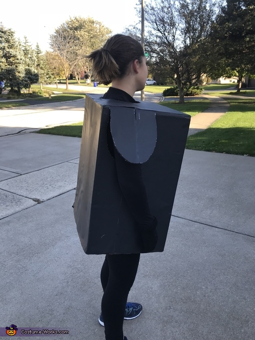 The Vending Machine Homemade Costume