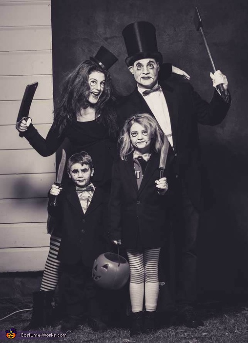 The Ventriloquist Family Costume