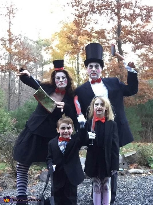 The Ventriloquist Family Homemade Costume
