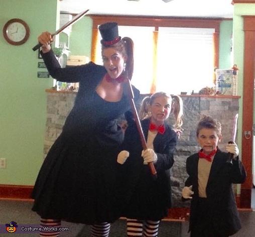 The Ventriloquist Family Homemade Costume