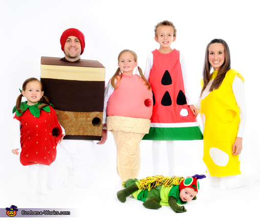 The Very Hungry Caterpillar Family Costume