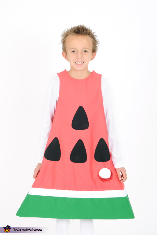 The Slice of Watermelon, The Very Hungry Caterpillar Family Costume