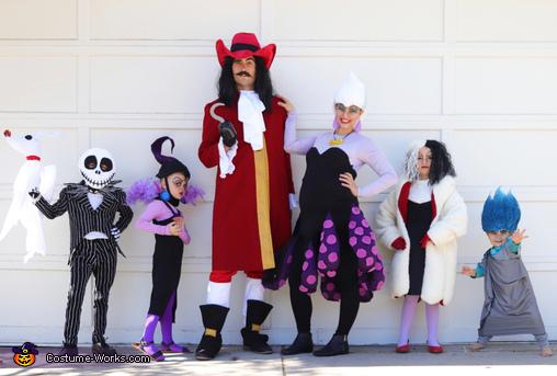 The Villain Heroes of Halloween Costume