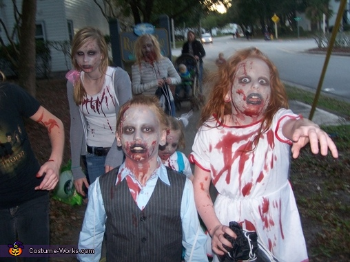 The Walking Dead Family Costumes