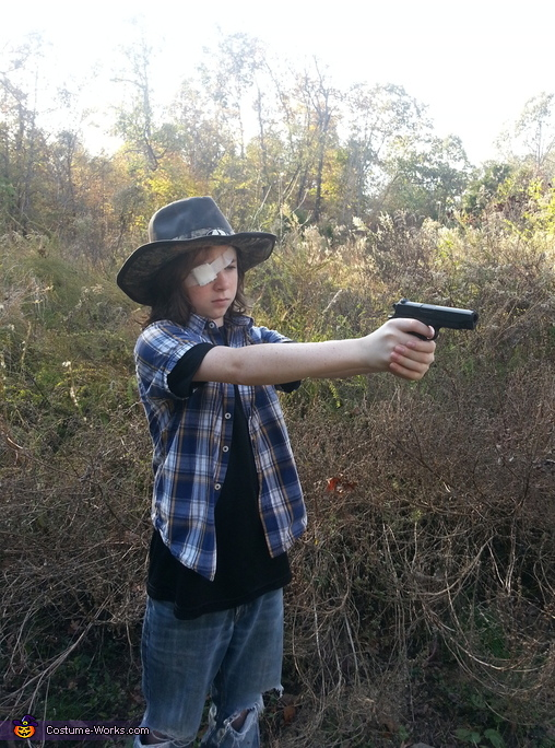 The Walking Dead Carl Costume