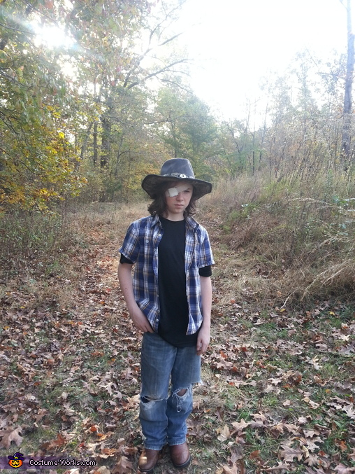 The Walking Dead Carl Homemade Costume