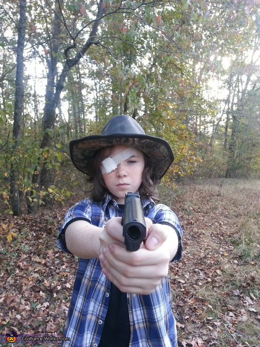 The Walking Dead Carl Homemade Costume