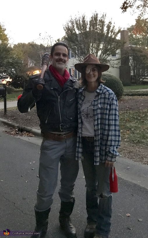 The Walking Dead - Negan and Carl Costume