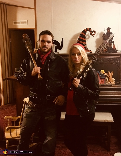 The Walking Dead Negan and his Wife Costume