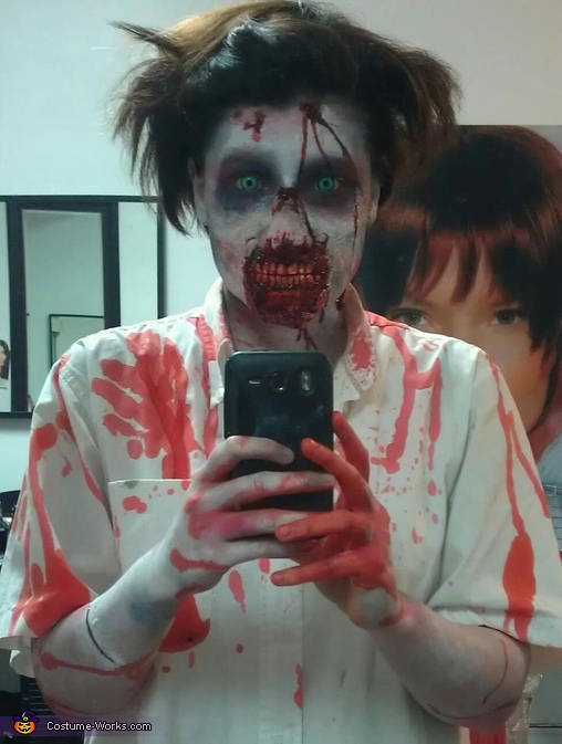The Walking Dead Zombie Costume DIY