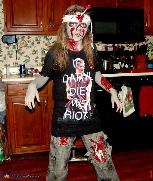 The Walking Dead Zombie Costume