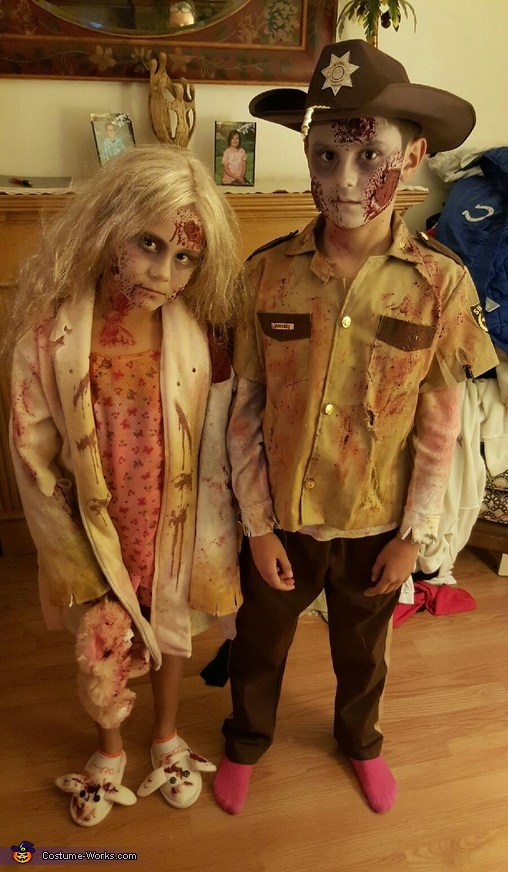 The Walking Dead Zombies Costume