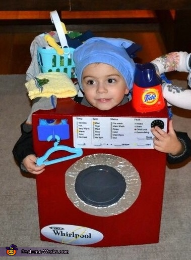 The Washing Machine Costume
