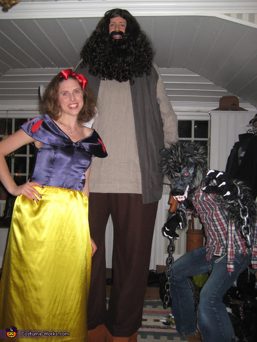 The Werewolf, Snowhite and Hagrid, The Werewolf Costume