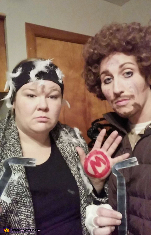 About as straight faced as we can get, The Wet Bandits - Home Alone Costume