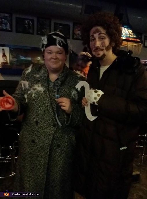 'Harry, are you wearing aftershave?', The Wet Bandits - Home Alone Costume