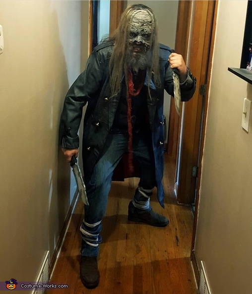 Me as beta from the whisperers, The Whisperers Costume