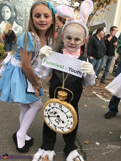 The White Rabbit Homemade Costume
