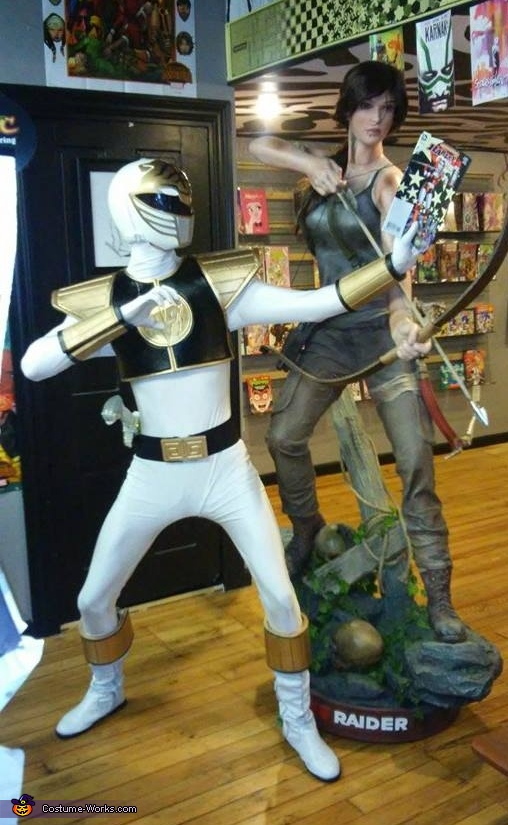 The White Ranger Costume