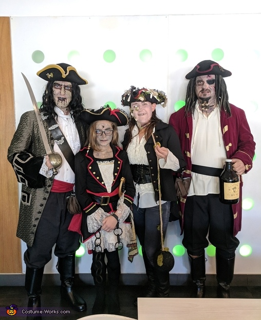 The Whydah Gally Crew Costume