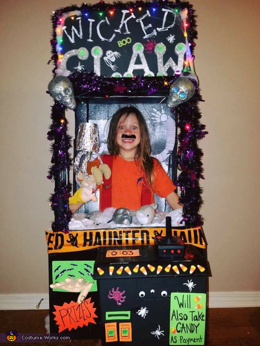 The Wicked Claw Machine Costume