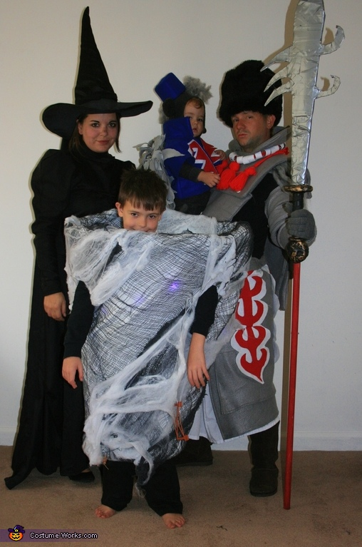 The Wicked Crew Wizard of Oz Family Costume