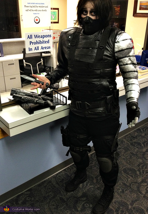 The Winter Soldier Homemade Costume