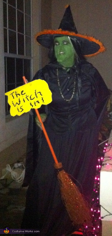 The Witch Is In - Homemade costumes for women