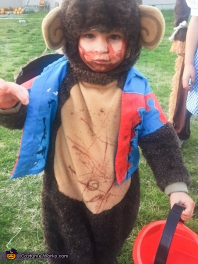 Maximus as the flying monkey, The Wizard of Oz Costume