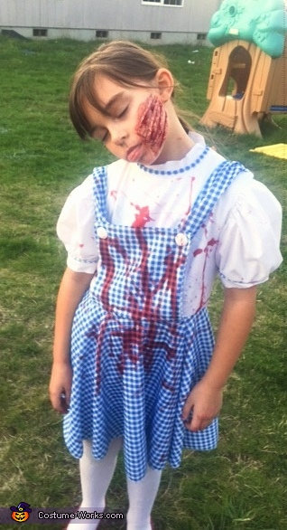 Amelia as Dorothy, The Wizard of Oz Costume