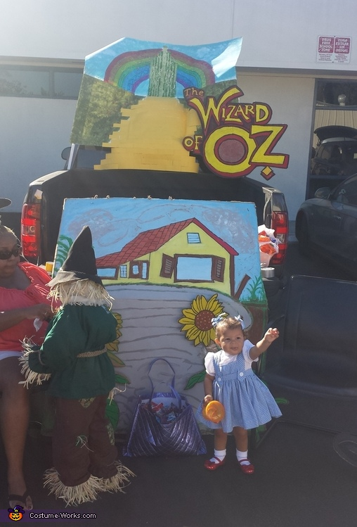Trunk or treat, The Wizard of Oz Costume