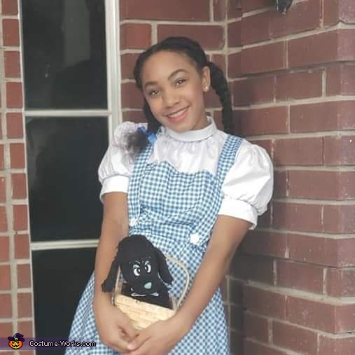 Qayla as (Beautiful Dorothy), The Wizard of Oz Of Texas Costume