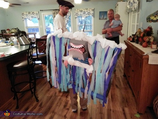 The Shark Coming out of a Tidal Wave, The Wonders of the Deep Blue Sea Costume