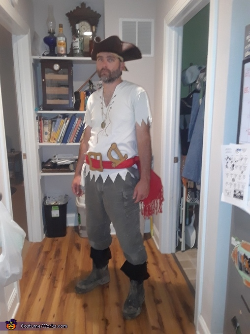 Daddy Pirate, The Wonders of the Deep Blue Sea Costume