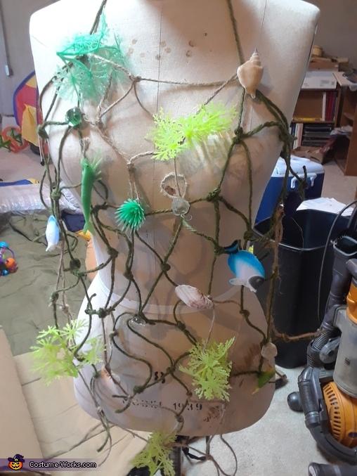 mermaid bodice, The Wonders of the Deep Blue Sea Costume