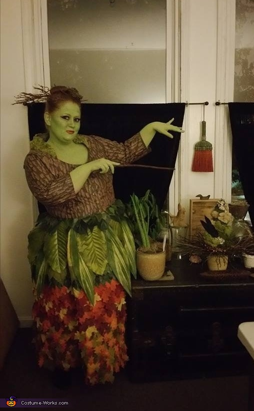 The Woodland Witch Costume