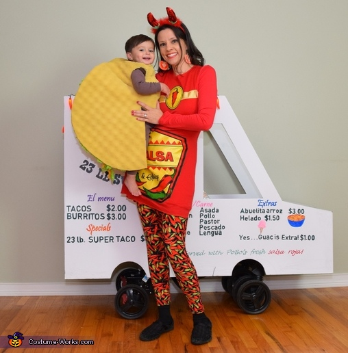 Taco Baby!, The World Famous 23 lb Super Taco Costume
