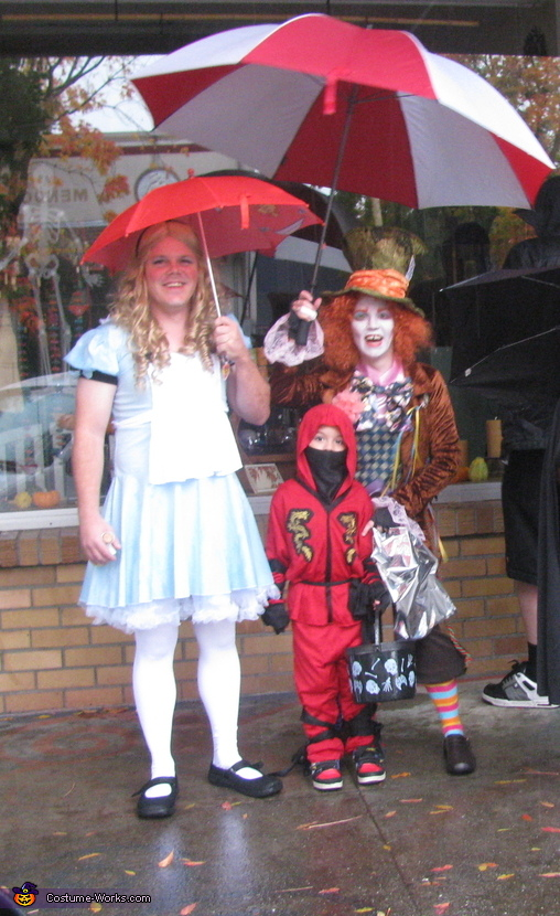 Alice in Wonderland and Mad Hatter Costume