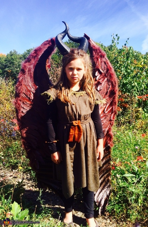 The Young Maleficent Costume