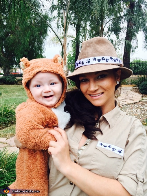 The Zoo Keeper and the Bear Costume