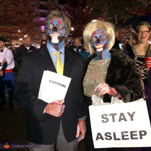 They Live Aliens Costume