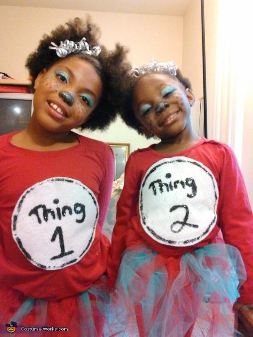Thing 1 &Thing 2 Costume