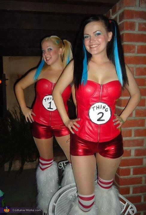 Thing 1 and Thing 2 - Homemade costumes for women