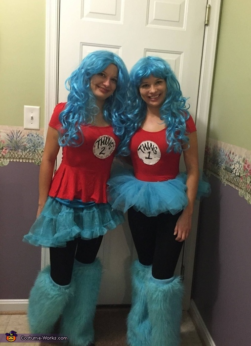 Thing 1 and Thing 2 Twins Costume