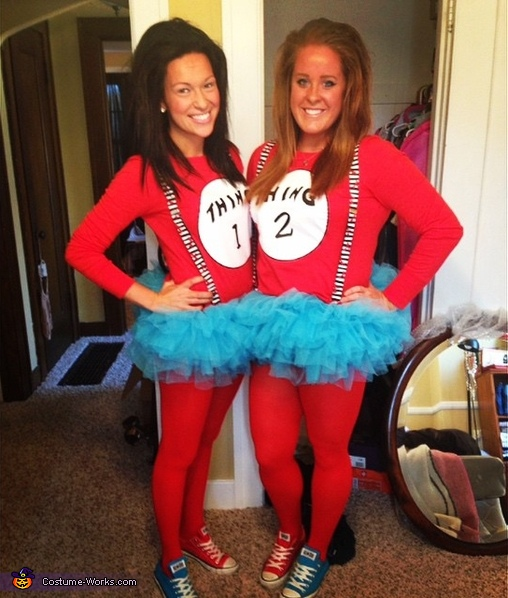thing 1 thing 2 costumes - Thing 1 Thing 2 Halloween Costume