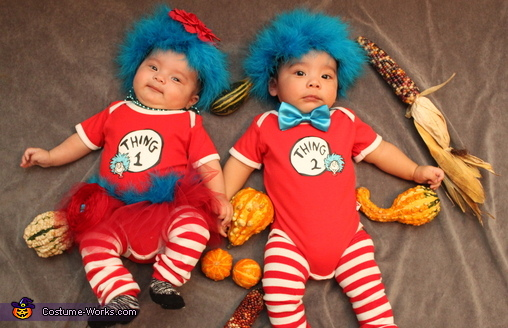 Thing 1 & Thing 2 Infant Costumes