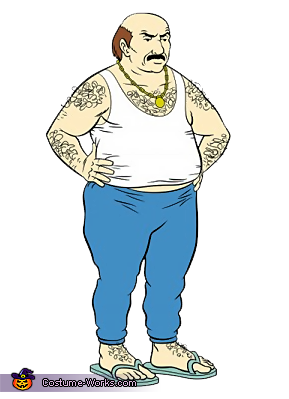 This is the character, Carl., Aqua Teen Hunger Force Carl Costume