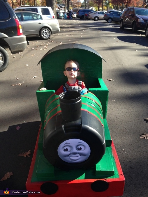 Here comes Owen!, Thomas and Friends Percy Costume