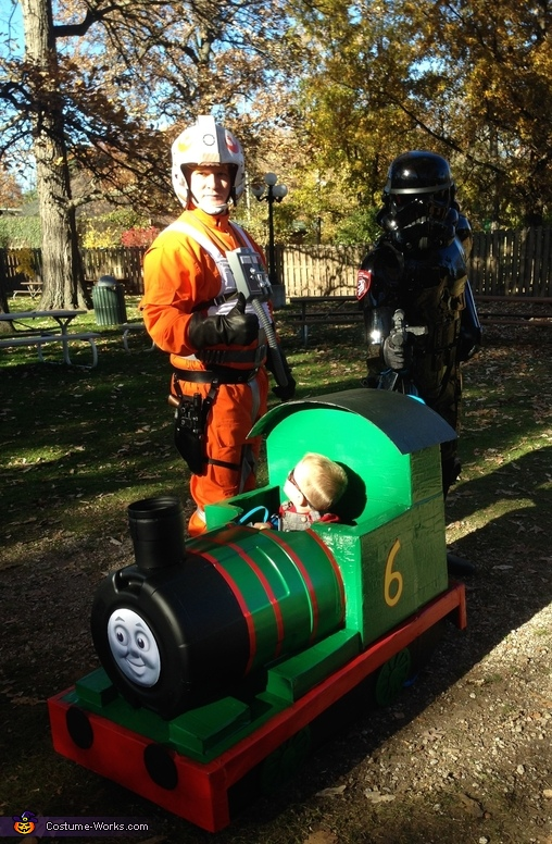 Woah! Who are these Guys?, Thomas and Friends Percy Costume