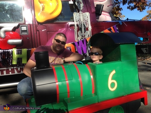 Dad and Me!, Thomas and Friends Percy Costume